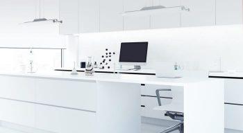 Interior of the lab